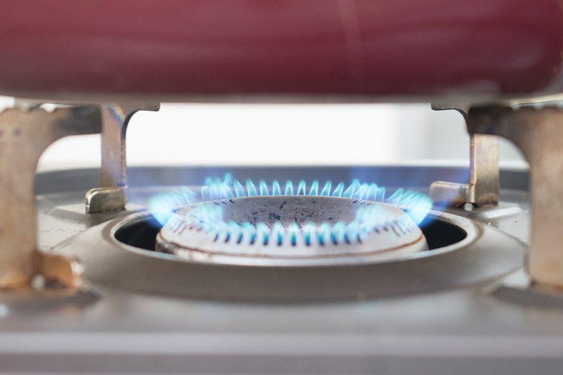 沸騰しない程度の火加減