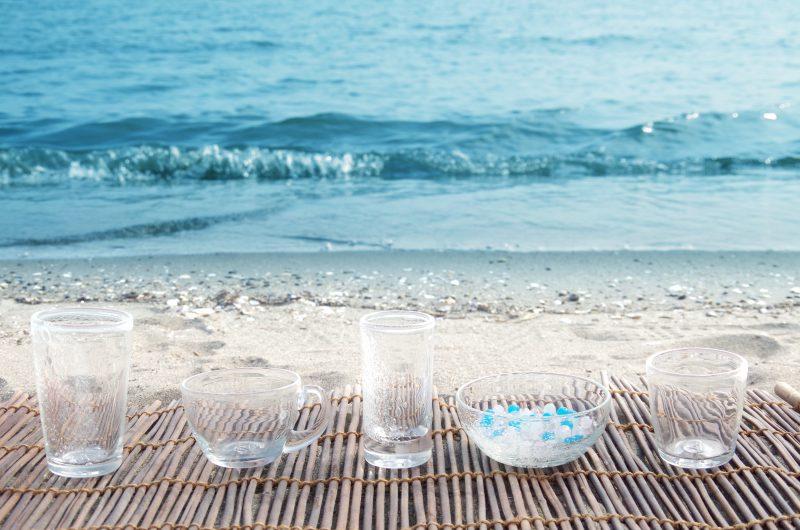 イクイリブリアムボトルをリサイクルしませんか? ガラス工芸に変えるリサイクル活動を行っています。