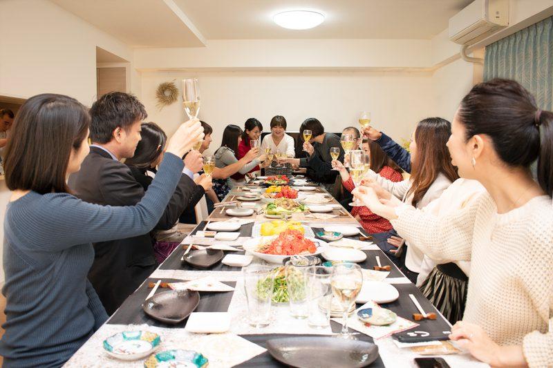 お寿司!お肉!カニ! 2019年Riva Artの忘年会も盛大に開催されたヨ☆
